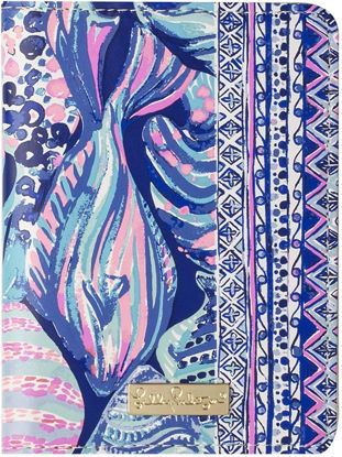 Lilly Pulitzer Passport Cover Wallet Scale Up