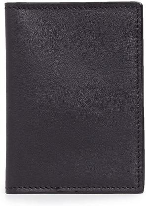 Shinola Men's Signature Black Passport Wallet