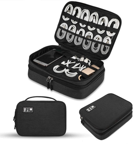 Jelly Comb Electronic Accessories Cable Organizer Case