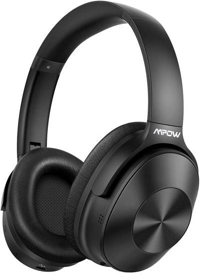 Picture of Mpow H12 Noise Cancelling Headphones Bluetooth, Wireless/Wired Headphones