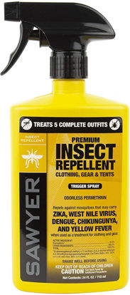 Picture of Sawyer Products Premium Permethrin Insect Repellent Pump Spray for Clothing and Fabric - 24oz.
