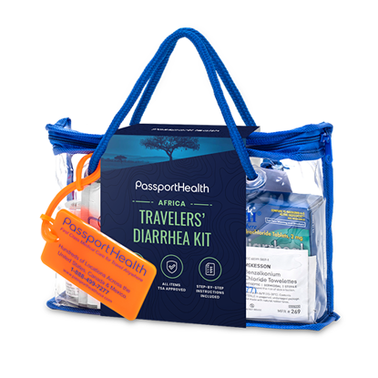 Africa Diarrhea Prevention and Treatment Kit for Travelers